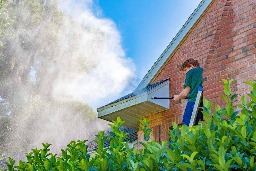 power washing Roseville CA
